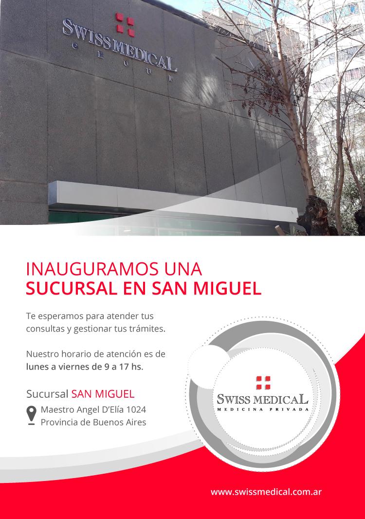 Nueva Sucursal San Miguel
